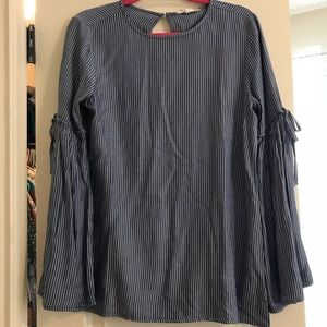 NWT Beach Lunch Lounge small long sleeve blouse